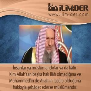 Müslüman Olmayan Kâfirdir