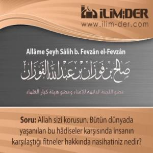 Müslümanların Başına Gelen Musîbetlerin Sebebi ve Çaresi
