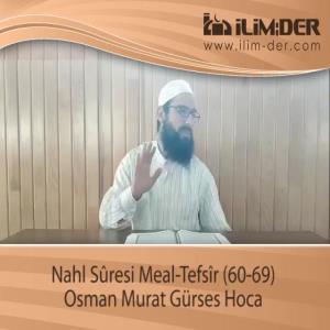 Nahl Sûresi Meal-Tefsîr (60-69)